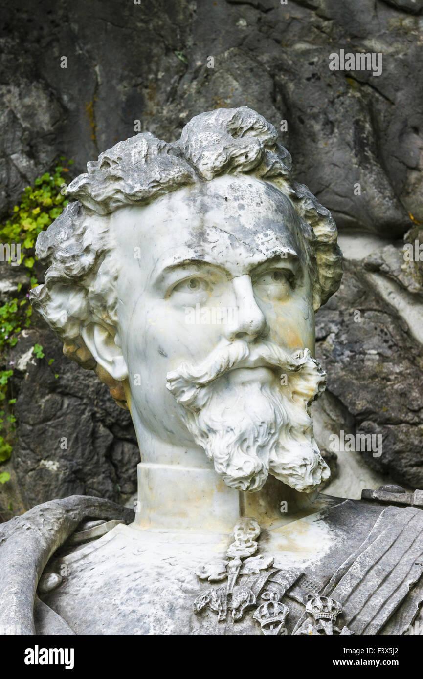 monument  ludwig II of bavaria - Stock Image