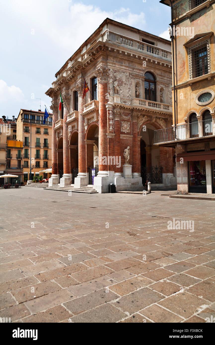 Palazzo del Capitaniato, Vicenza - Stock Image