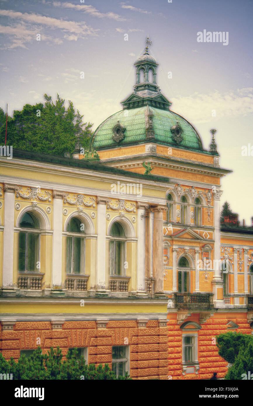 Nové Lázně - Stock Image