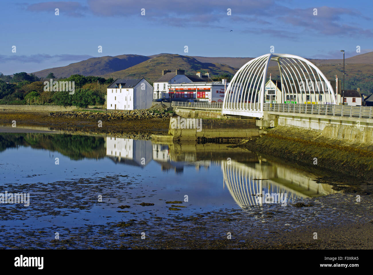 Bridge to Achill Island - Stock Image