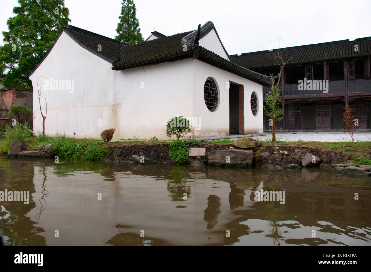The old mansion in Xi Tang - Stock Image