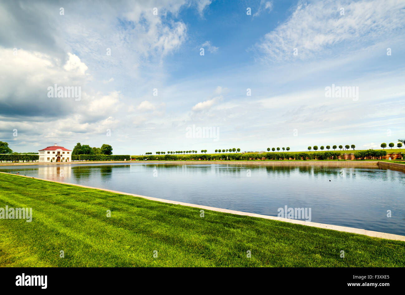 Park Tsarskoye Selo, Russia - Stock Image
