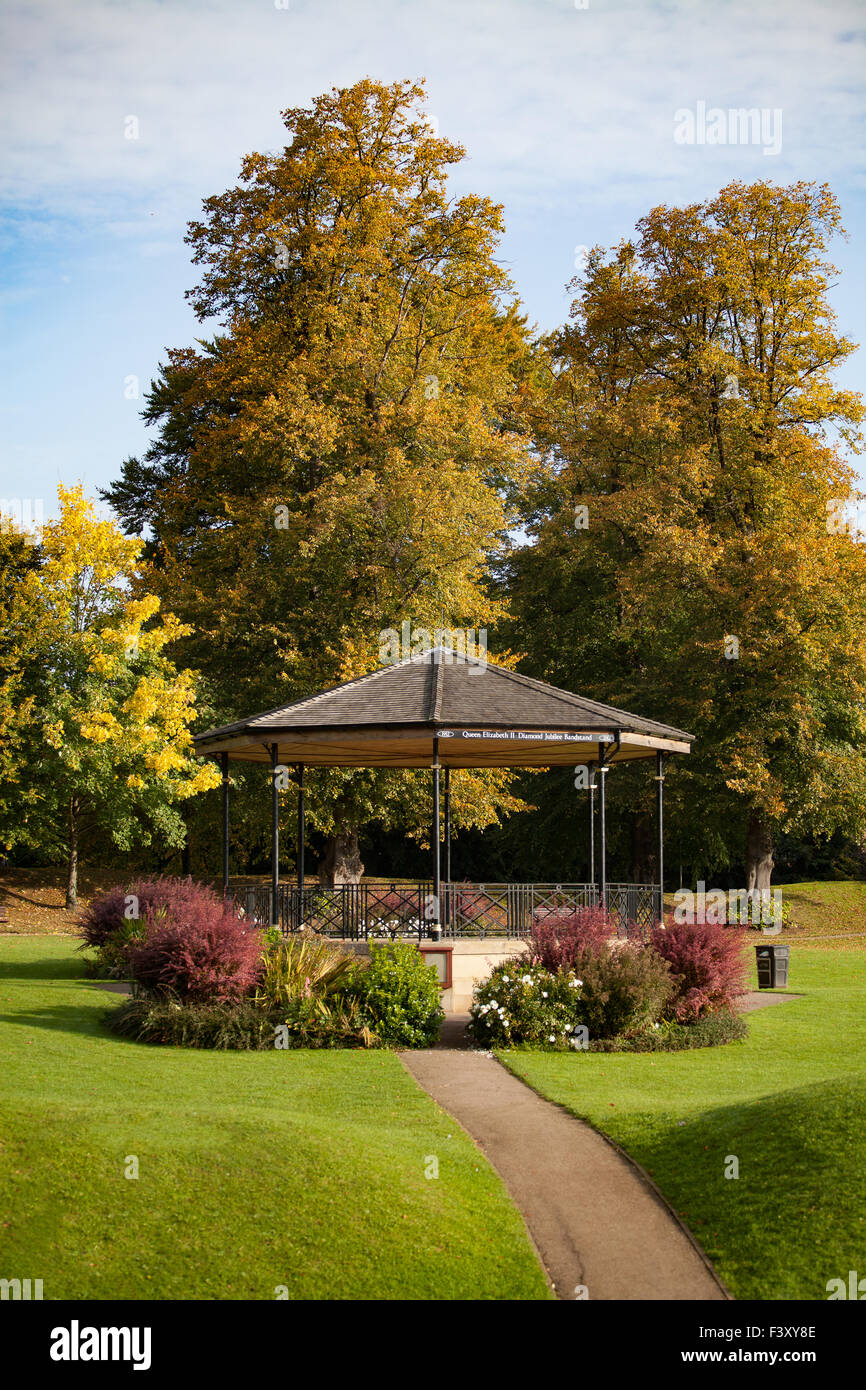 Oakham Town Bandstand - Stock Image