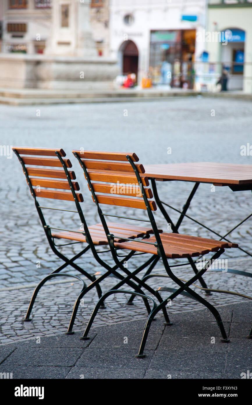 Seats of a free seat Stock Photo