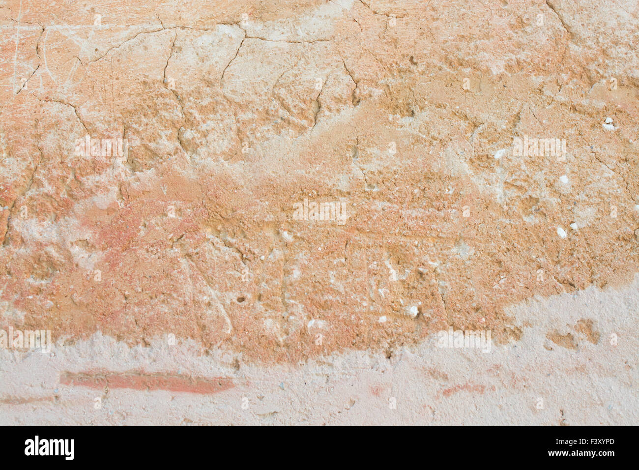 Earthy structure background in warm colors - Stock Image
