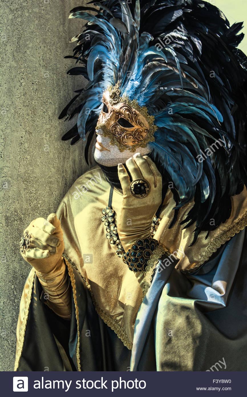 Carnival in Venice - Stock Image