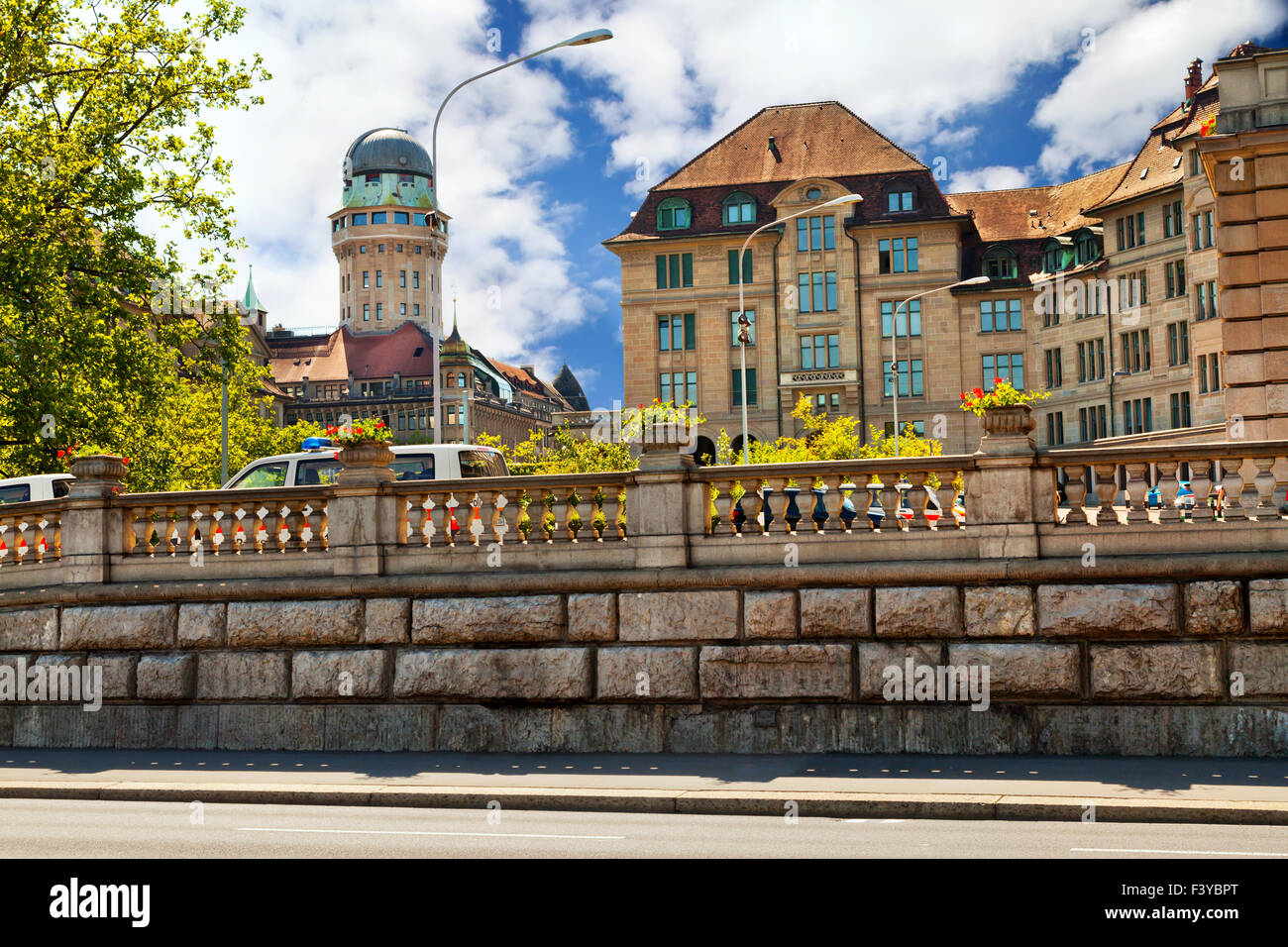 Center of Zurich - Stock Image