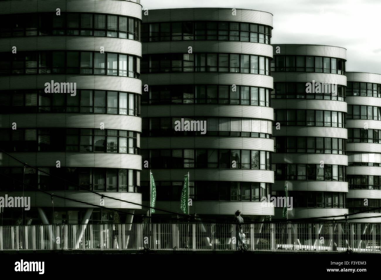 modern era architecture - Stock Image