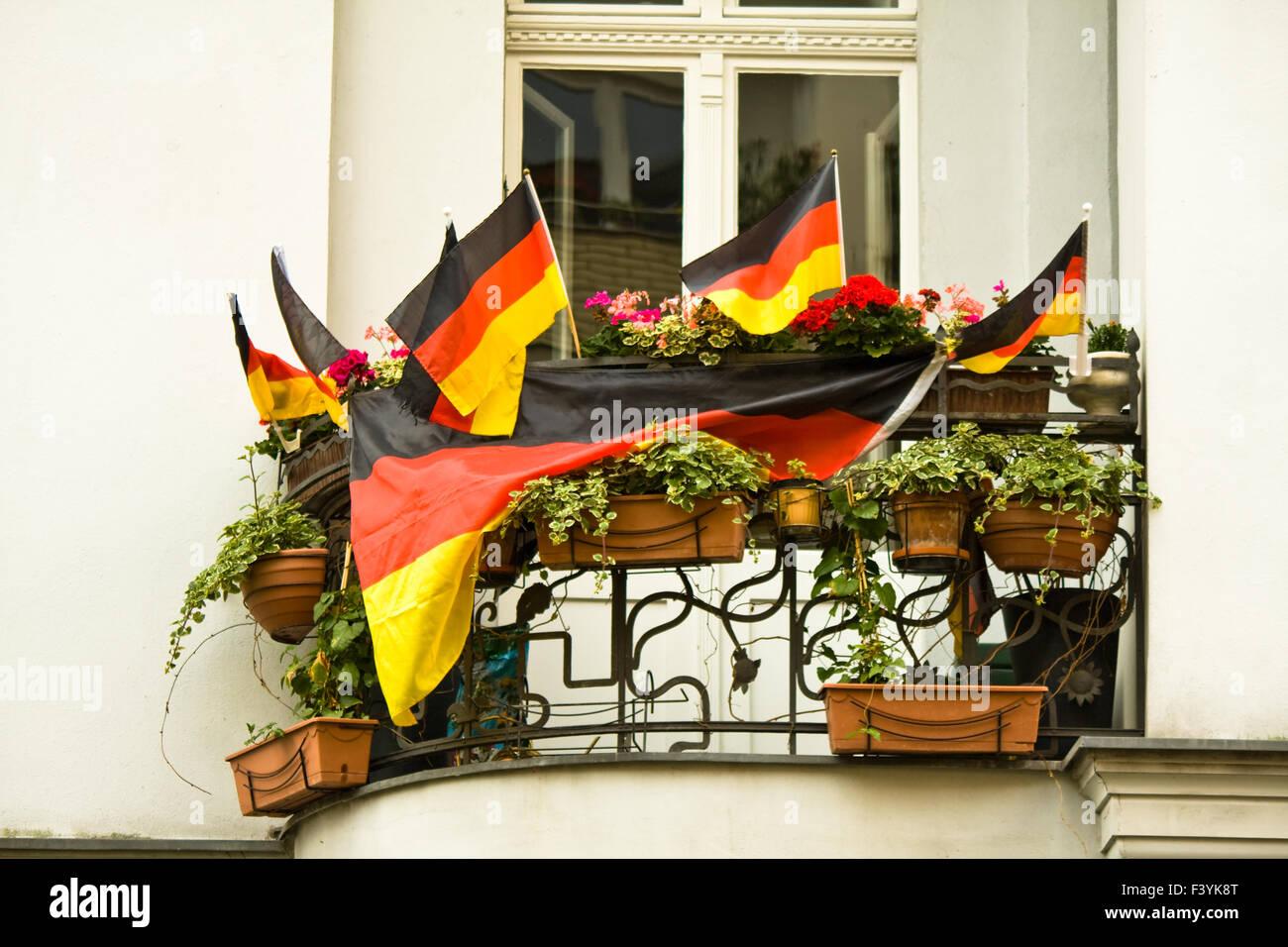 germany, flag - Stock Image