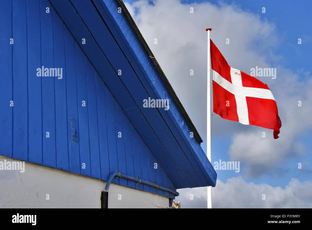 Dannebrog - Stock Image