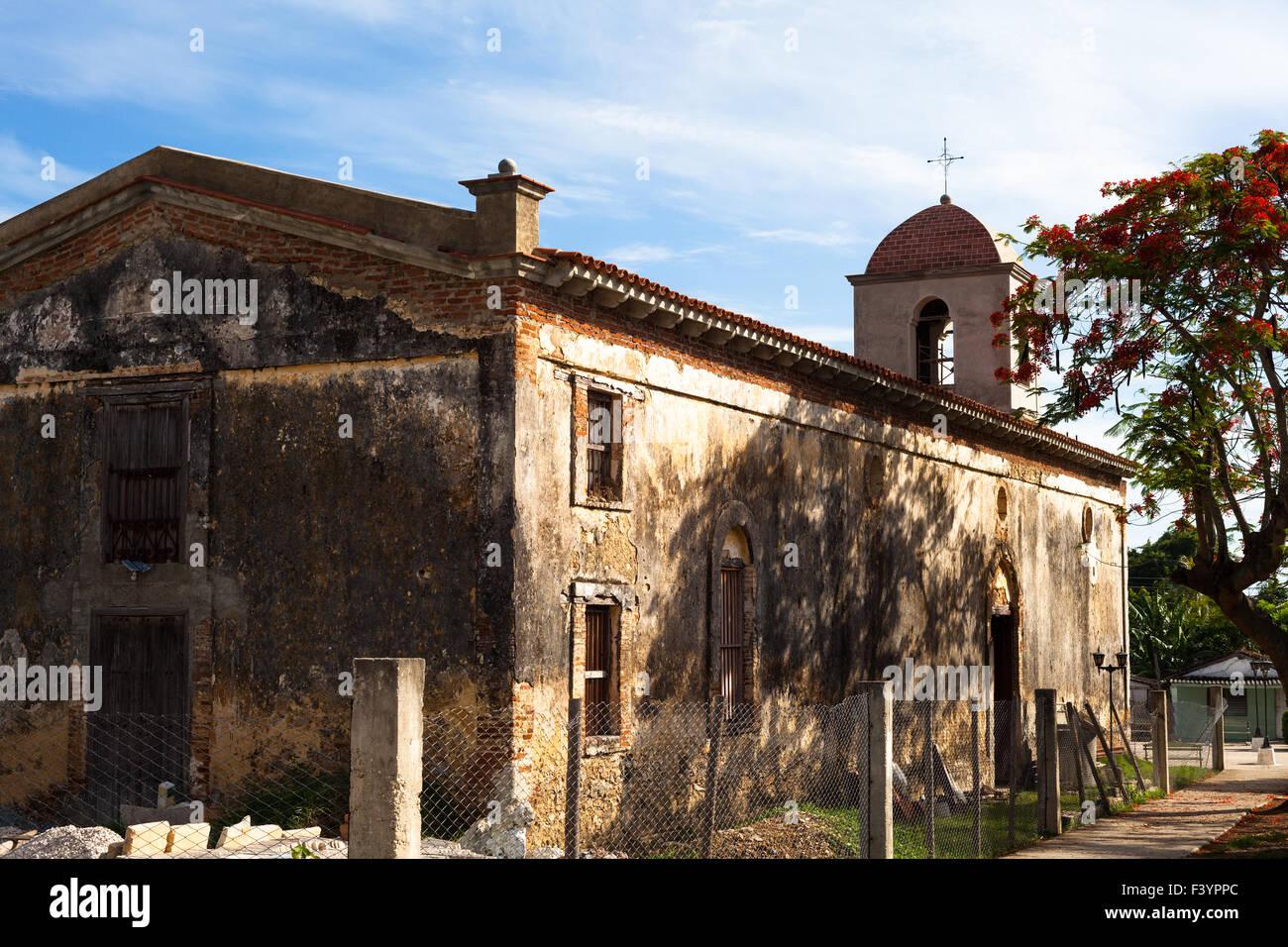 UNESCO Caribbean Cuba Trinidad architectures - Stock Image