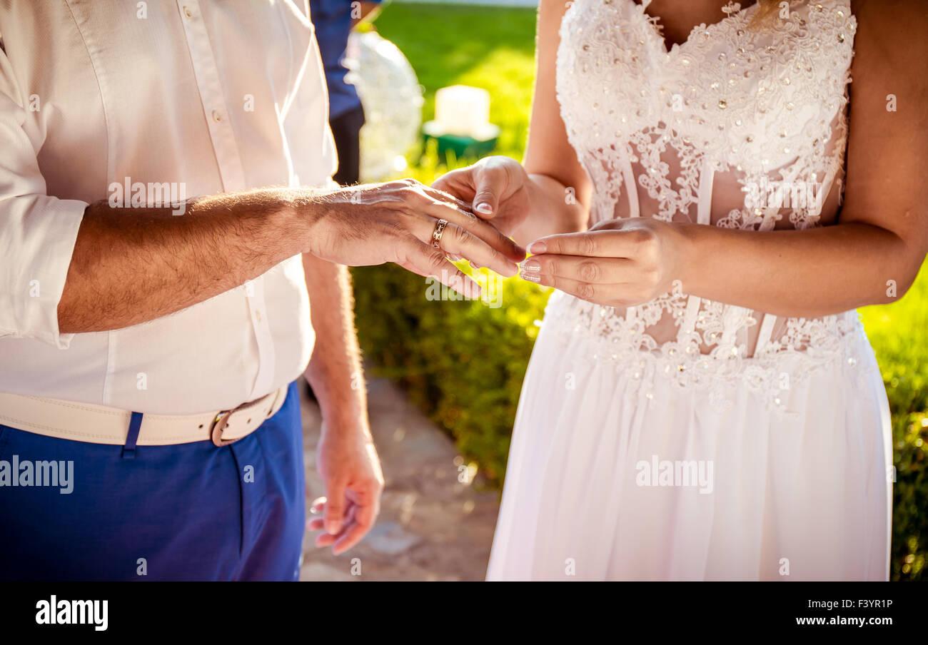 Bride Groom Rings Stock Photos & Bride Groom Rings Stock Images