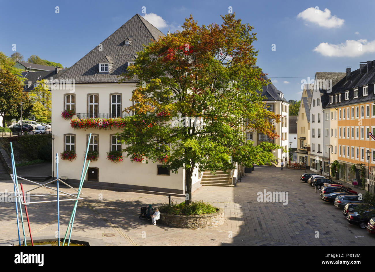 City Hall, Siegen - Stock Image