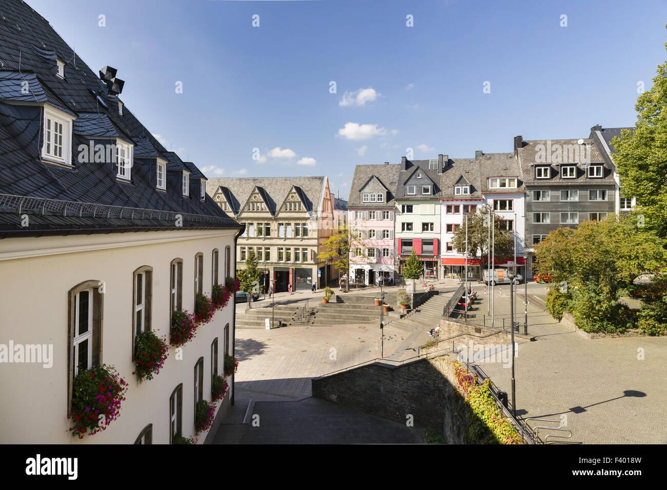 City Hall, Siegen, Germany - Stock Image