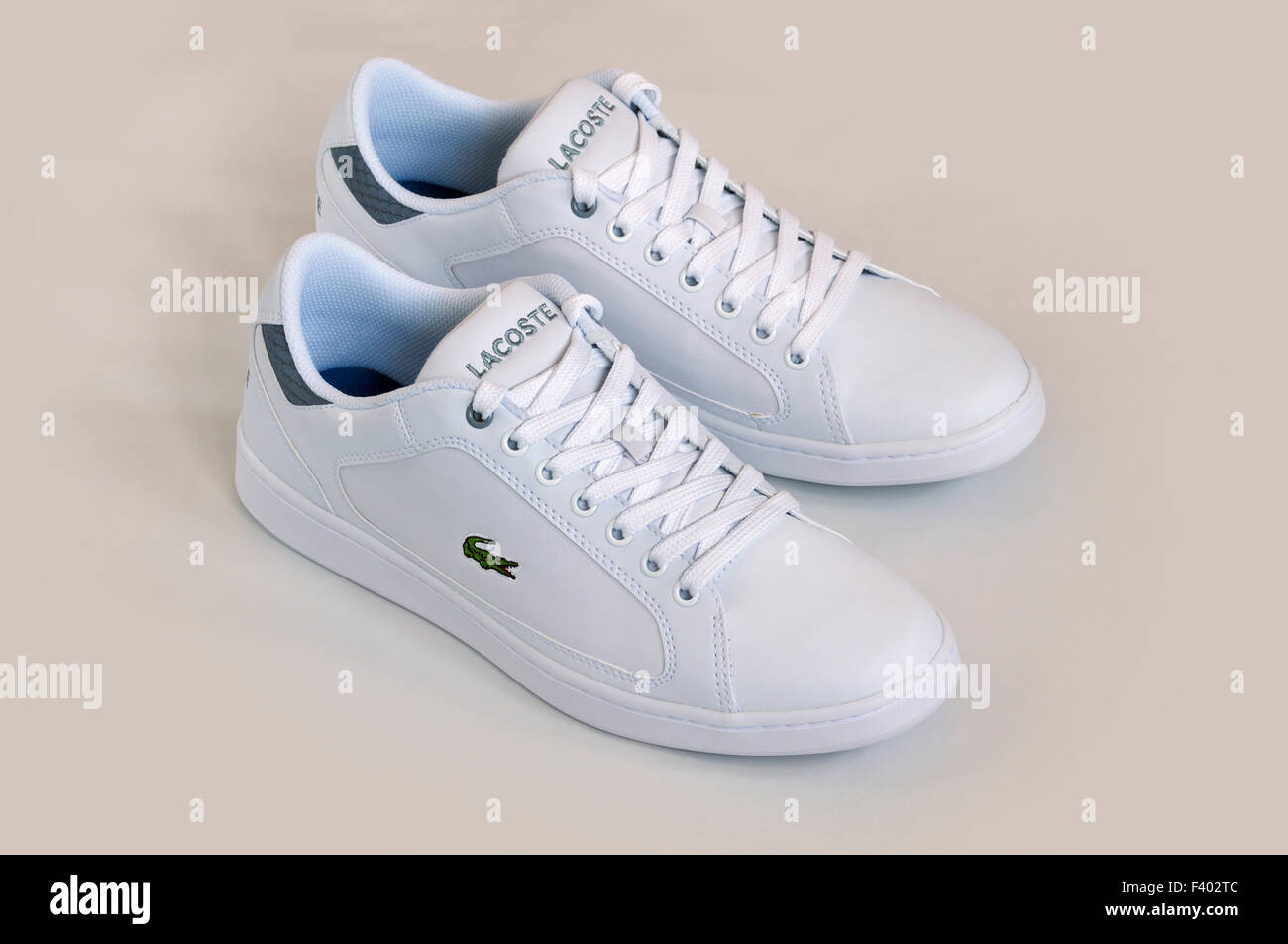 Lacoste trainers Stock Photo - Alamy