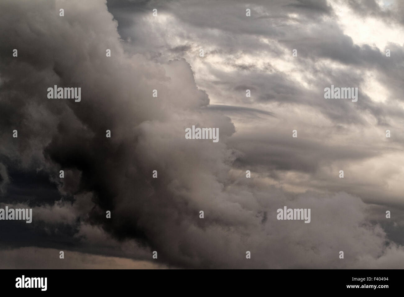 Specific cloud - Stock Image