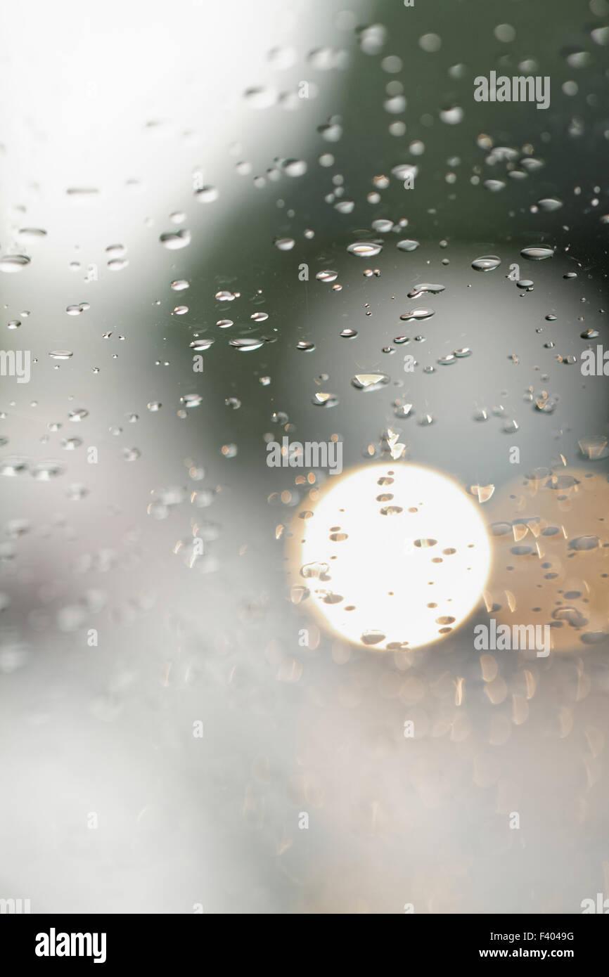 View feom the window - Stock Image