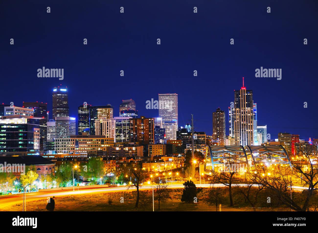 Downtown Denver, Colorado - Stock Image