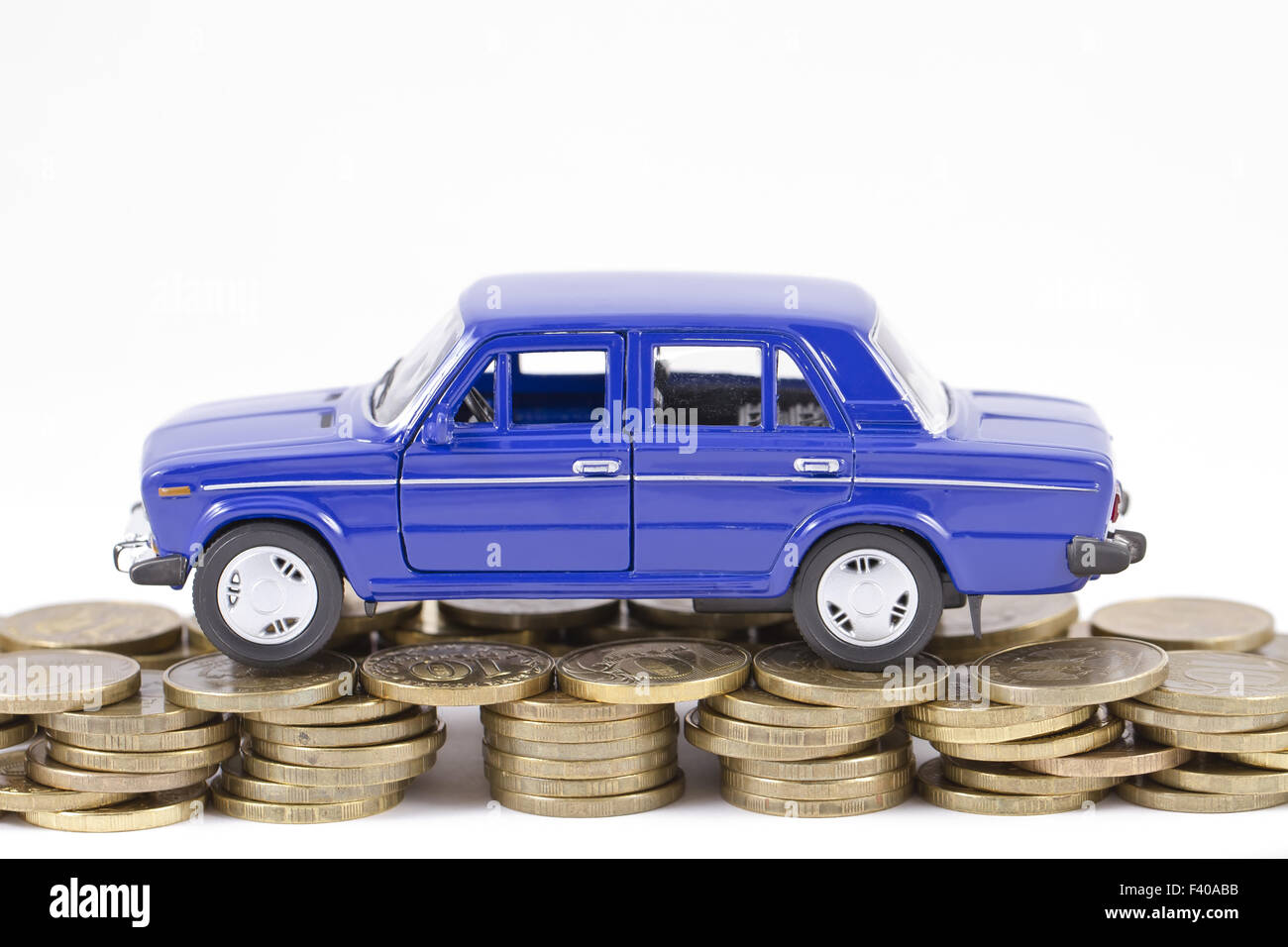 Concept : the repair of automobiles - Stock Image