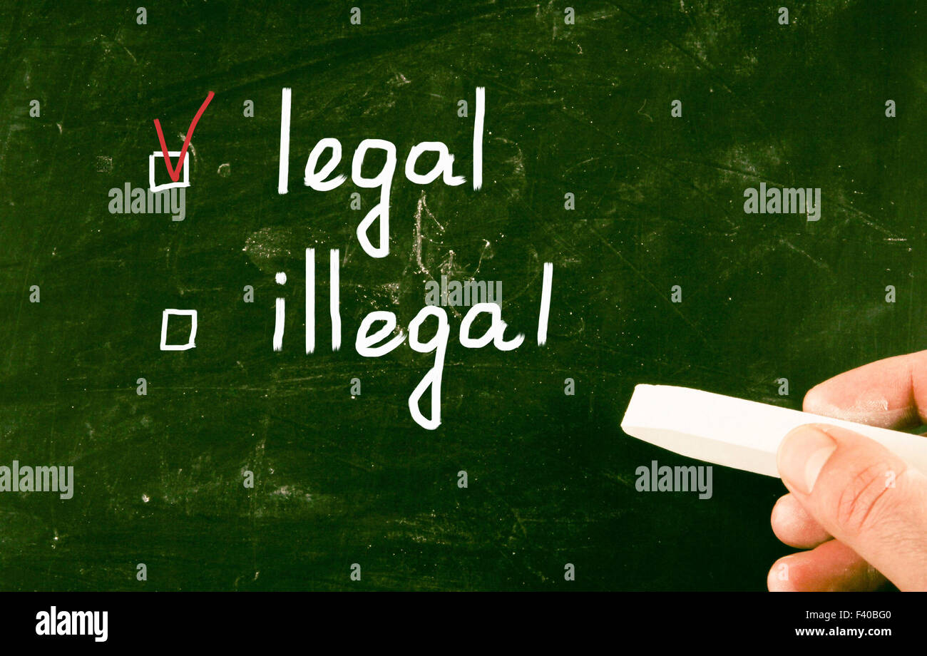 legal concept - Stock Image