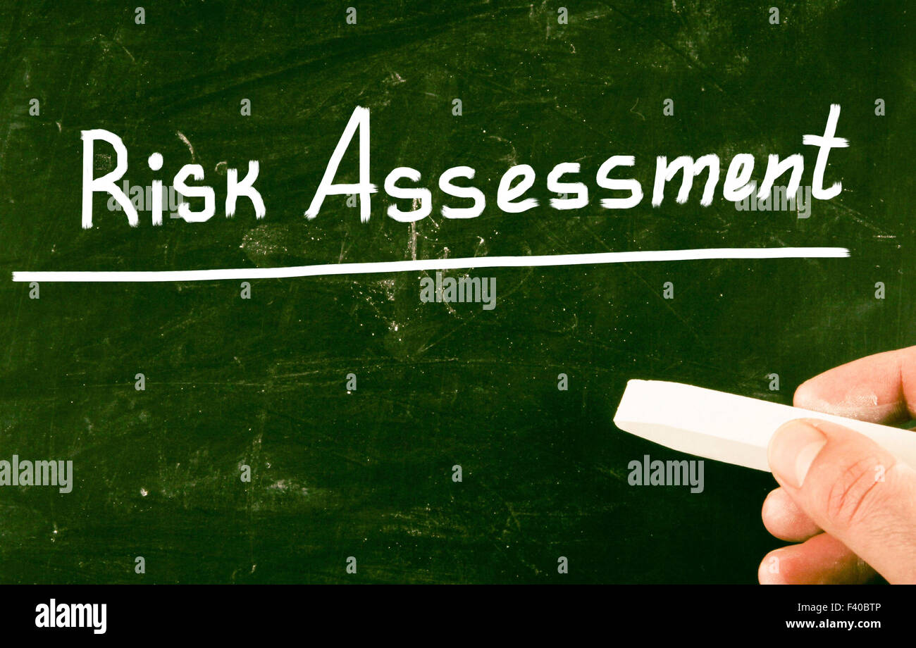 risk assessment - Stock Image