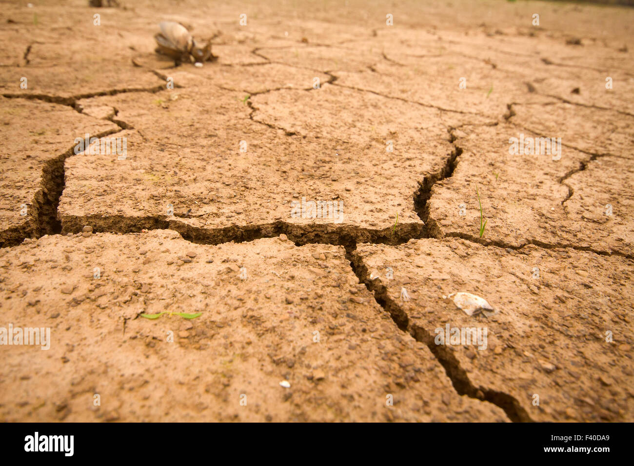 sea drought change of  climate heat water - Stock Image