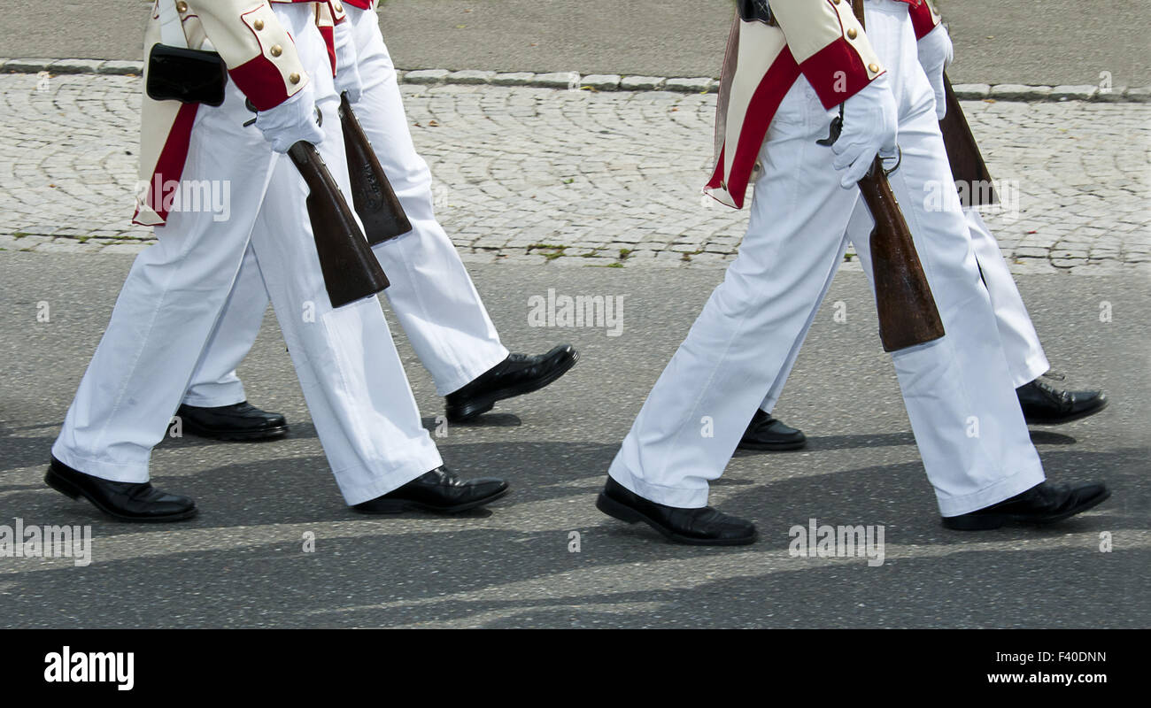 militia insel reichenau - Stock Image