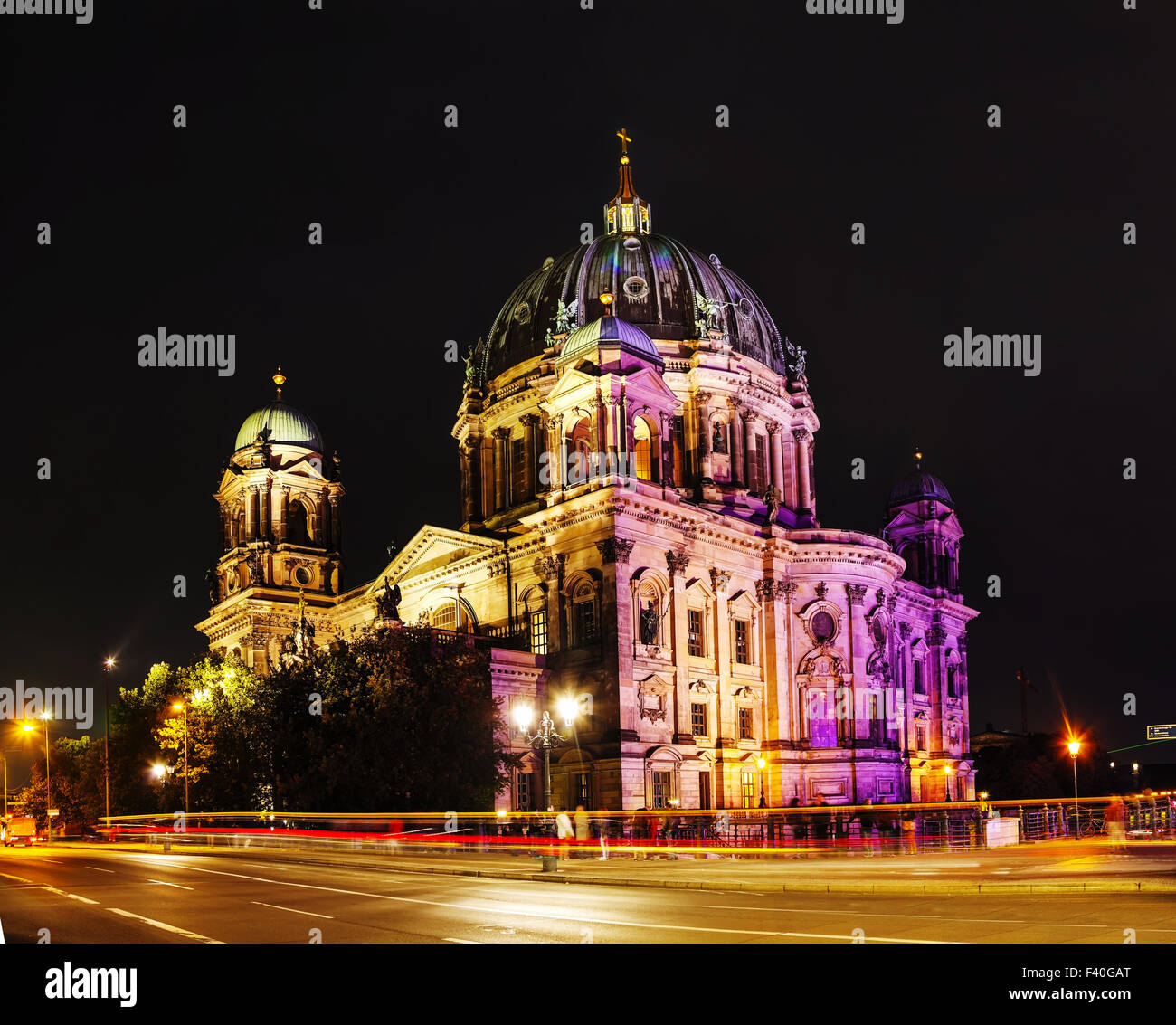 Berliner Dom overview - Stock Image