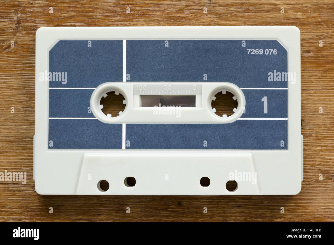 vintage cassette - Stock Image