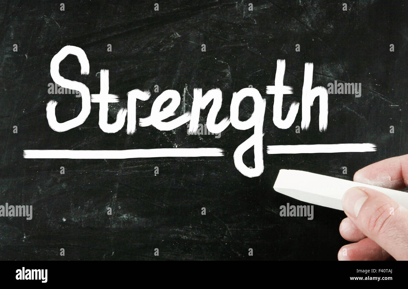 strength concept Stock Photo