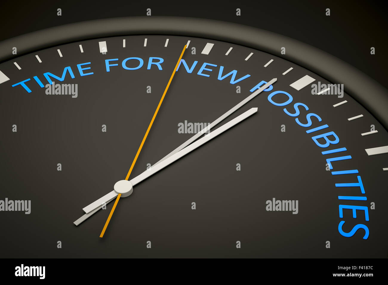 time for new possibilities - Stock Image
