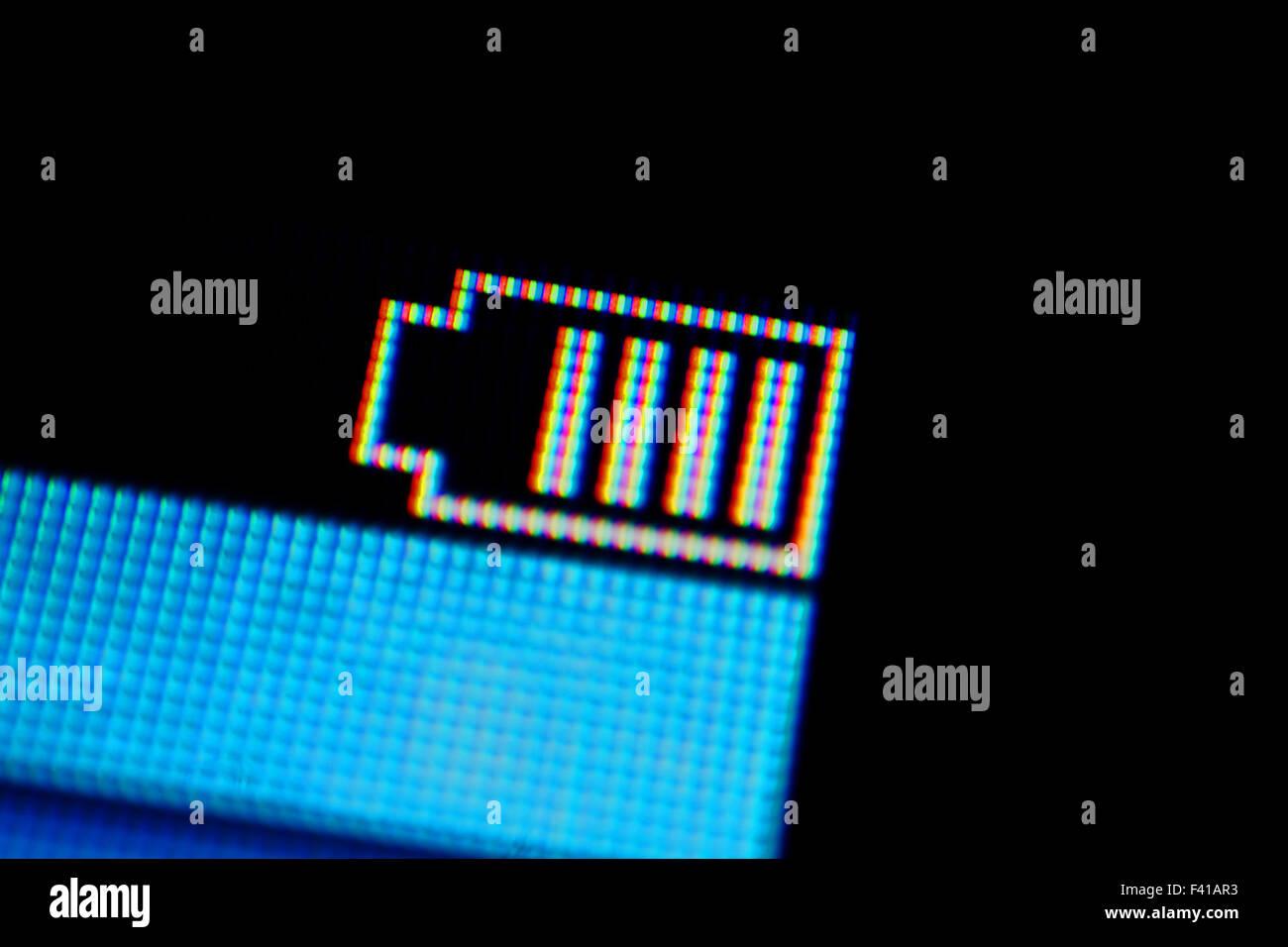 charged, display - Stock Image