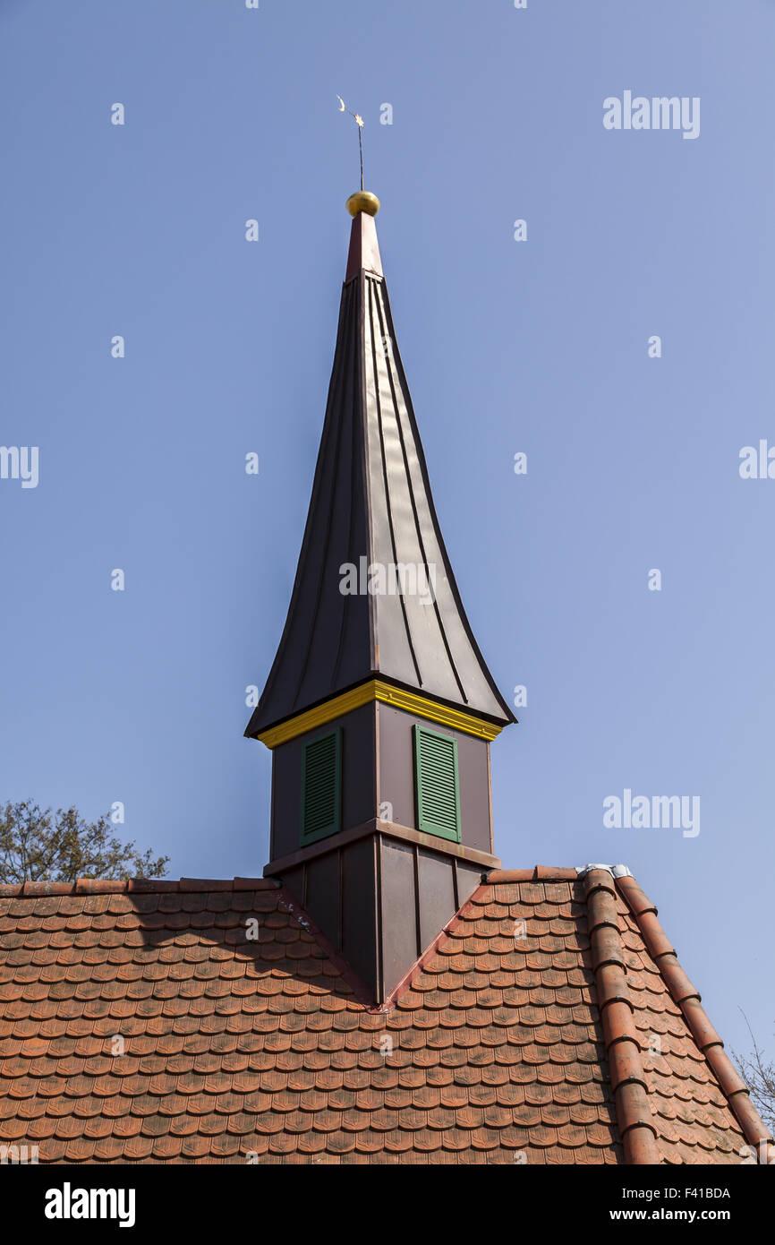 The chapel in Hagen, Lower Saxony, Germany - Stock Image