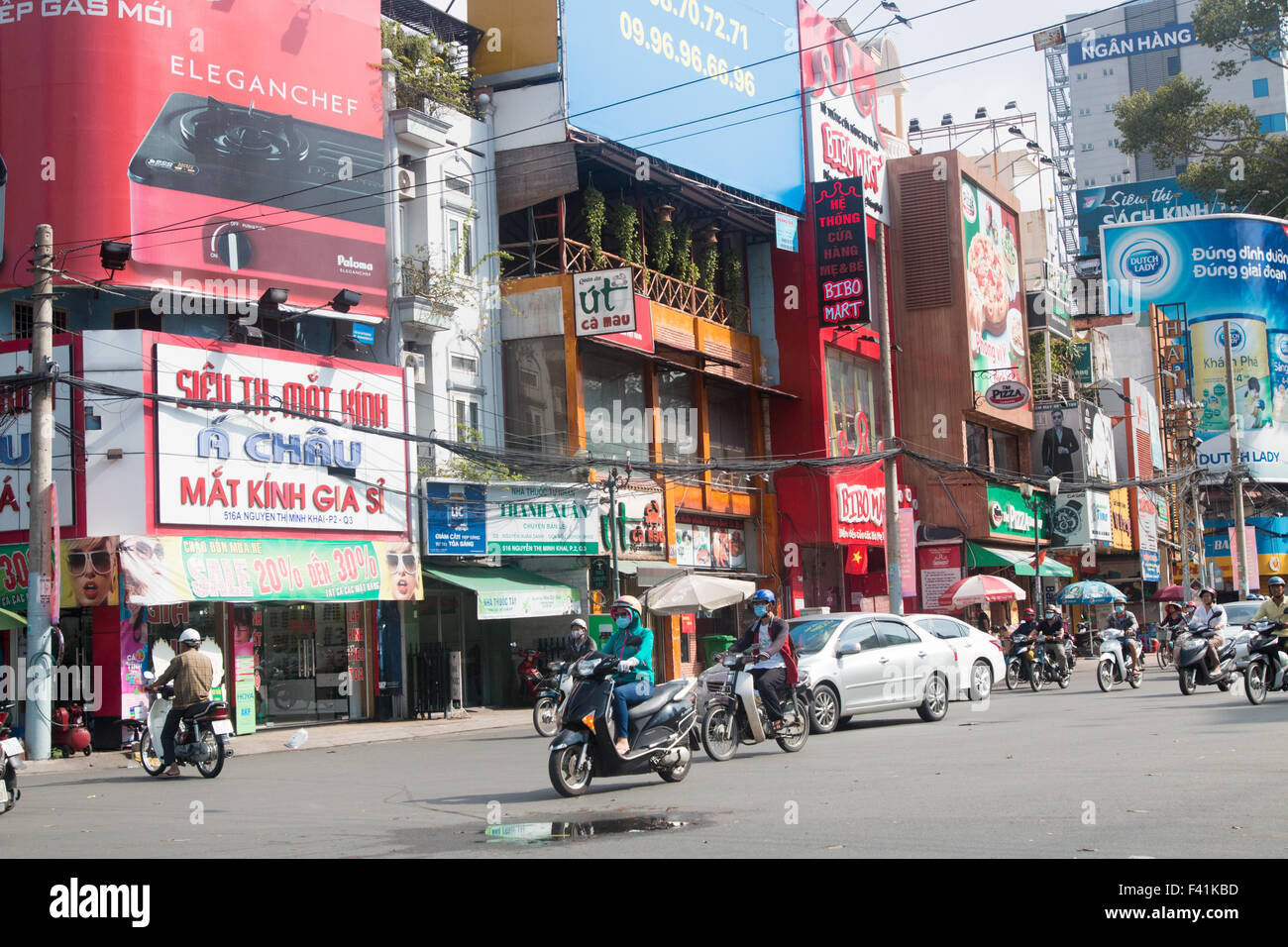 Image result for street scenein hcm city