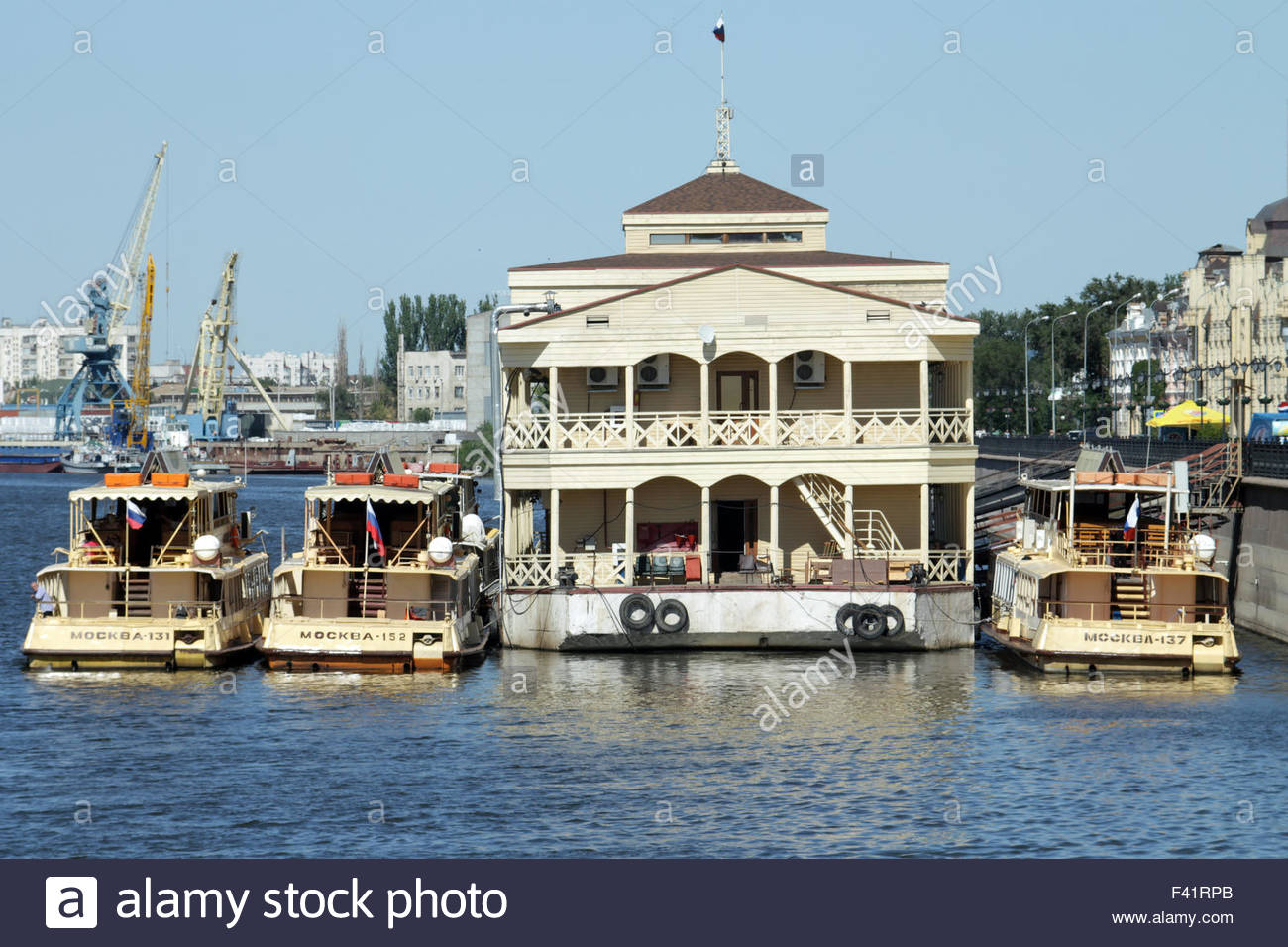 river cruisers - Stock Image