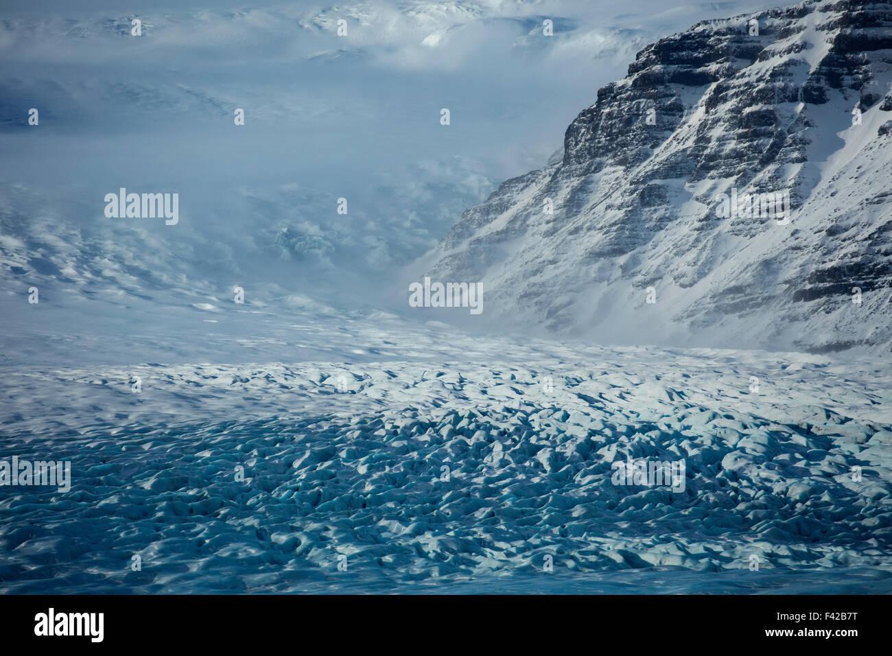 Hoffelsjokull, eastern Iceland - Stock Image