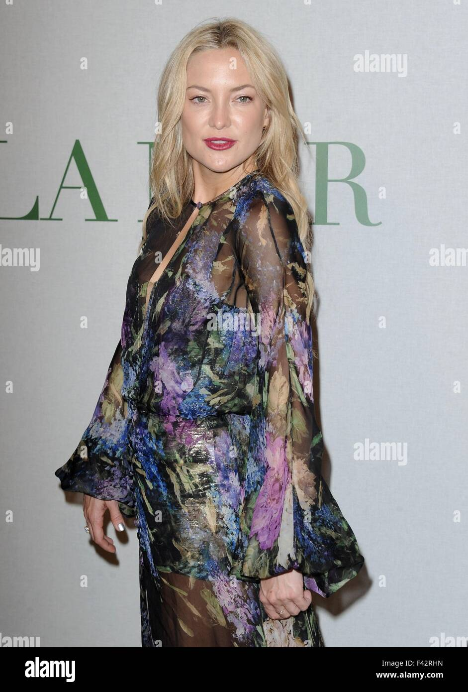 Kate Hudson At Arrivals For La Mers Celebration Of An Icon Vip Party Siren Studios Los Angeles Ca October 13 2015 Dee Cercone Everett