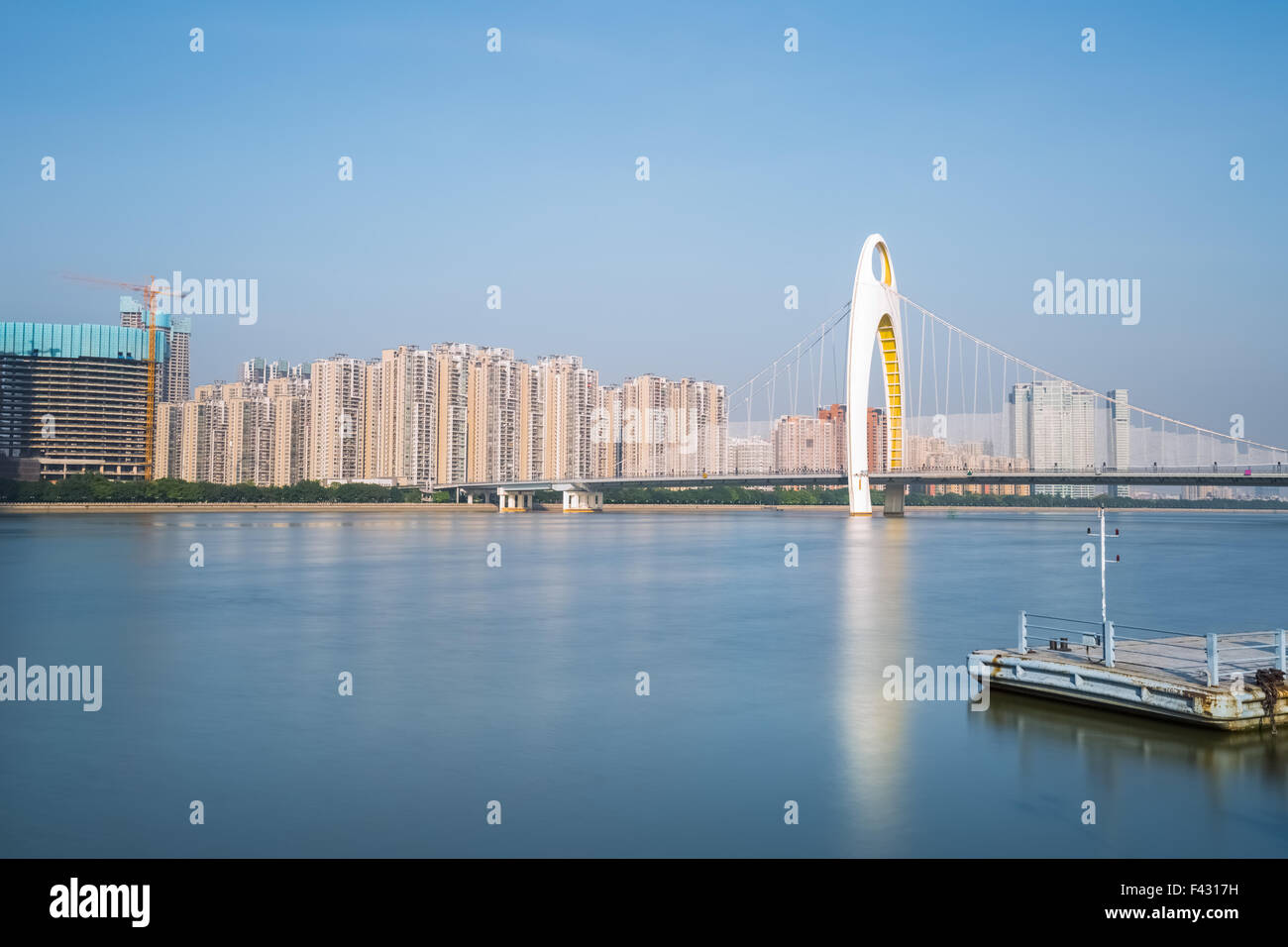the pearl river scenery - Stock Image