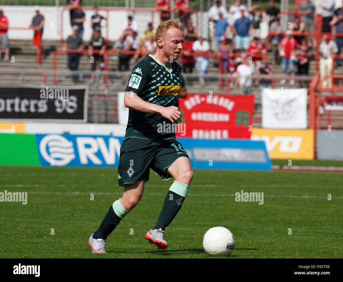 sports, football, Regional League West, 2015/2016, Rot Weiss Oberhausen versus Borussia Moenchengladbach U23 2:0, - Stock Image
