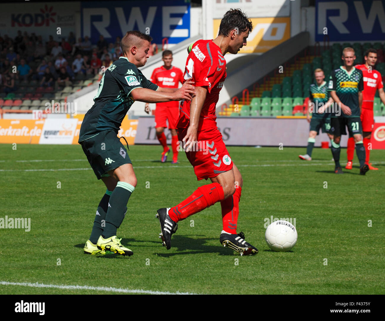 sports, football, Regional League West, 2015/2016, Rot Weiss Oberhausen versus Borussia Moenchengladbach U23 2:0, - Stock Image