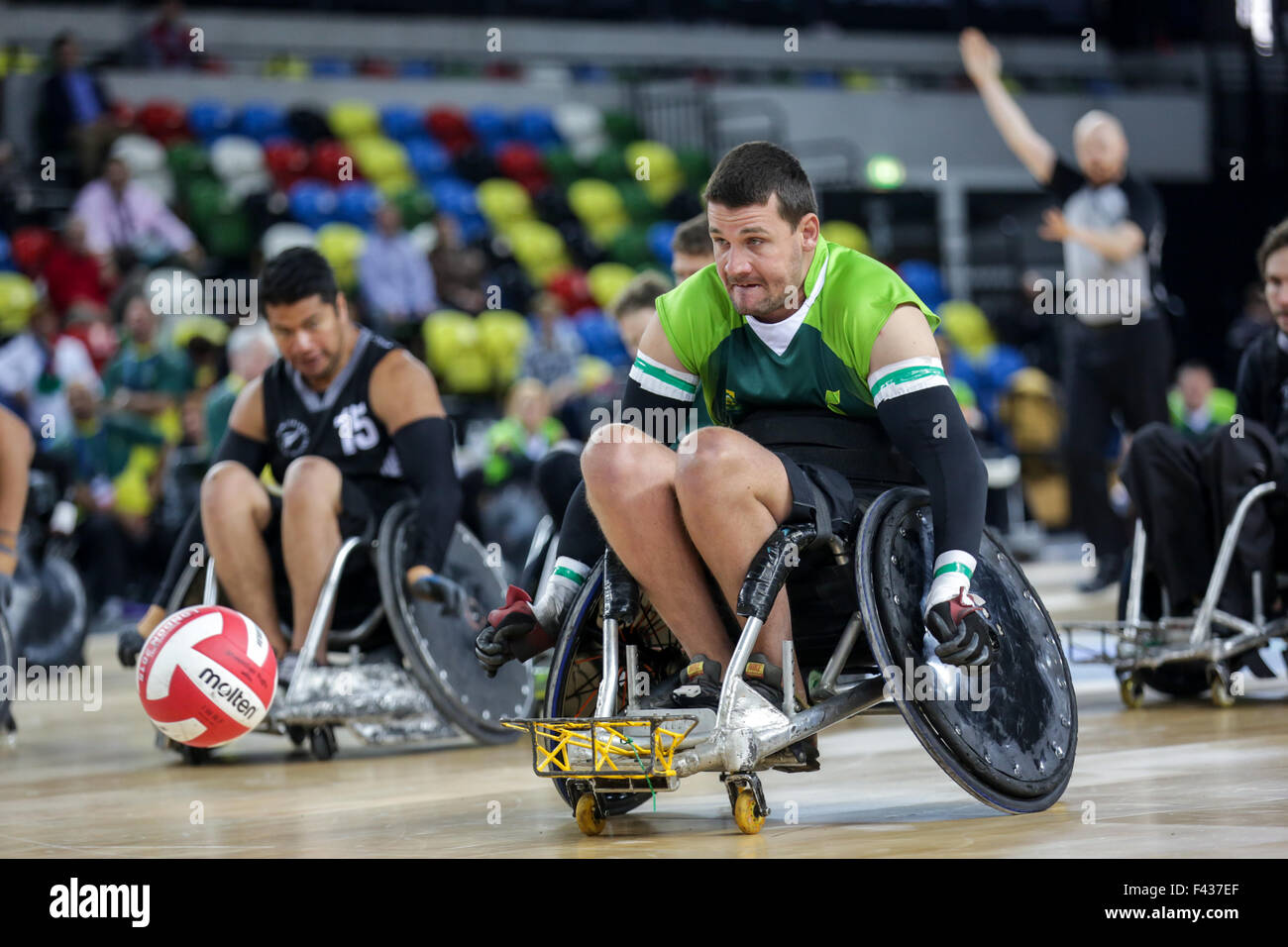 New Zealand defeated RSA 64-32 in their debut match in the competition. !3th october, 2015. copyright carol moir/Alamy - Stock Image