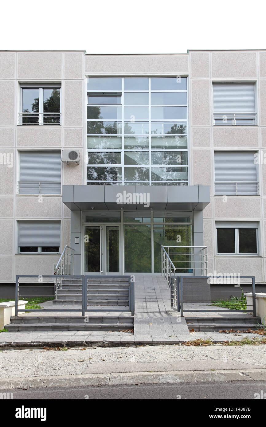 Small condo building - Stock Image