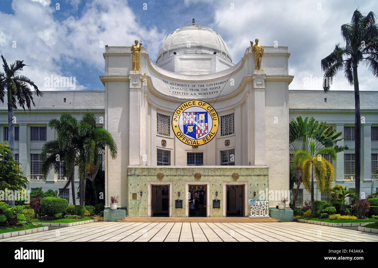 South East Asia,Philippines,Metro Cebu,Cebu City,Provincial Capitol Building - Stock Image