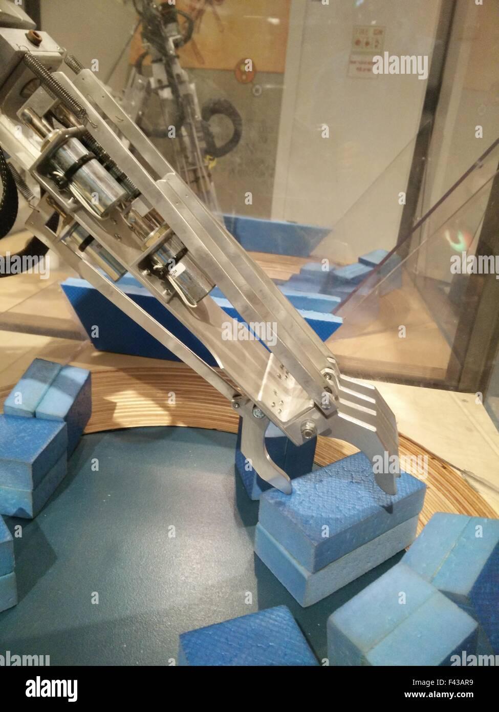 Robot Arm - Stock Image