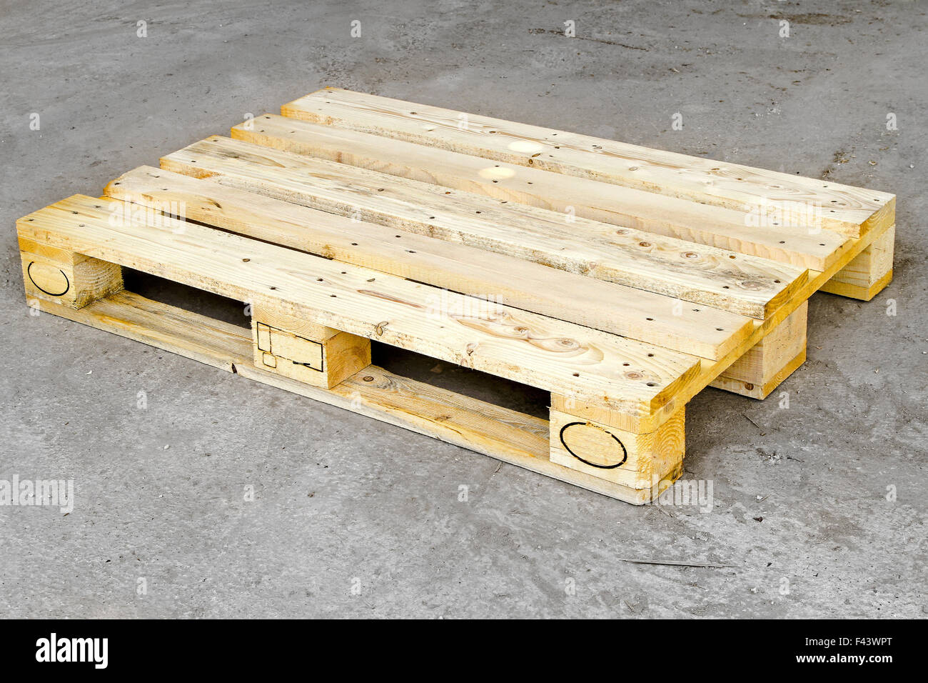 Pallet - Stock Image