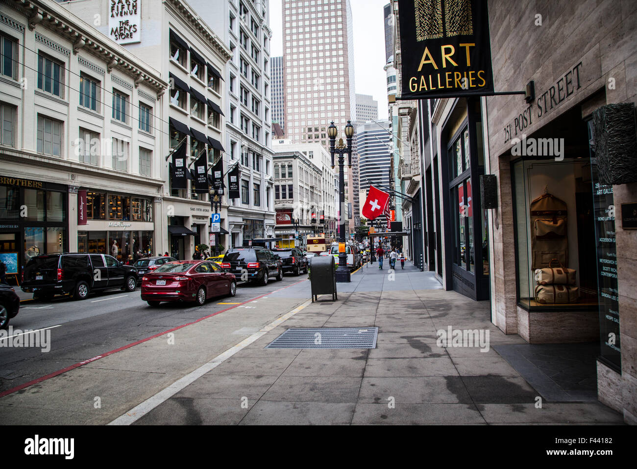 San Francisco Street View, California - Stock Image