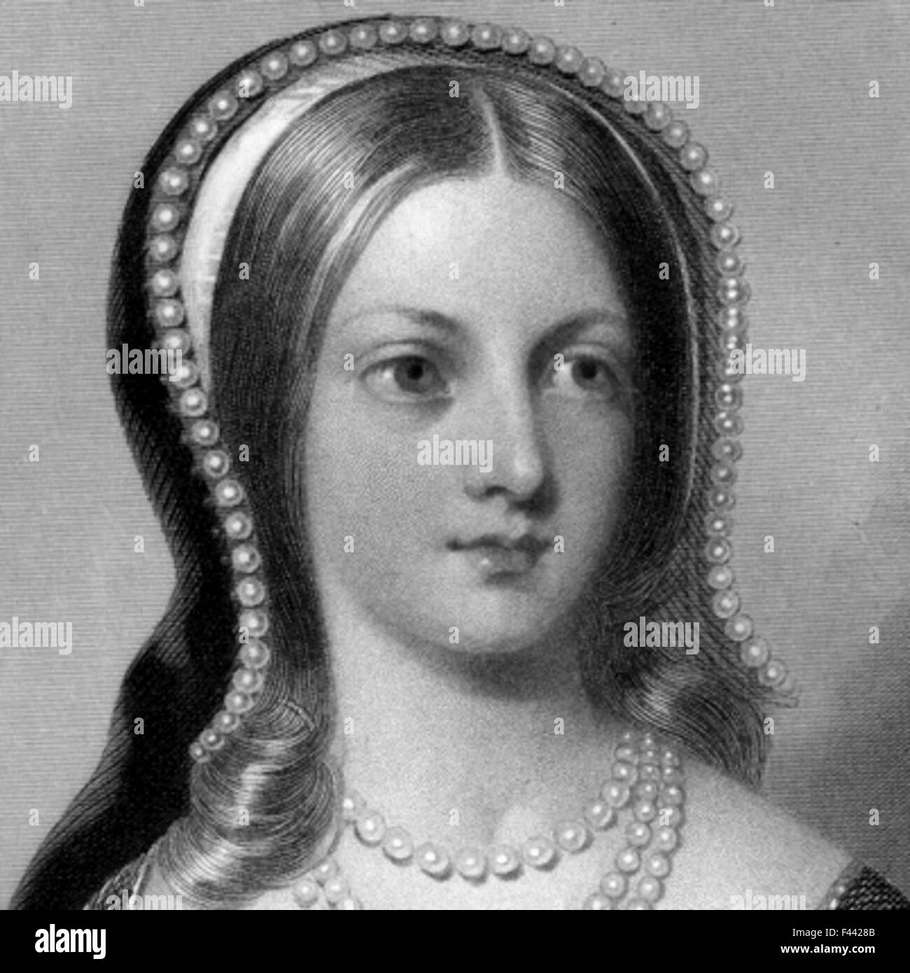 Lady Jane Grey - Stock Image