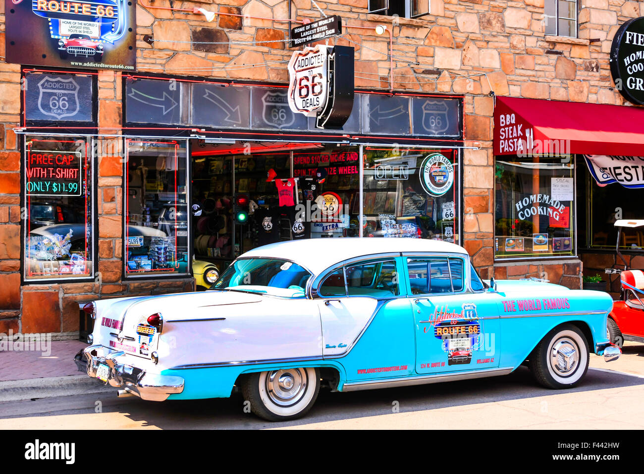 shop on route 66 stock photos & shop on route 66 stock images - alamy
