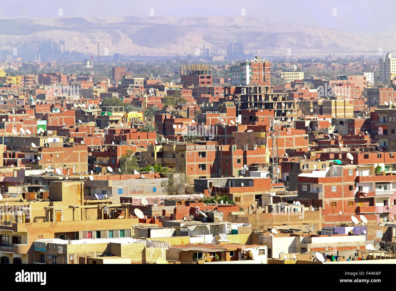 Giza neighbourhood - Stock Image