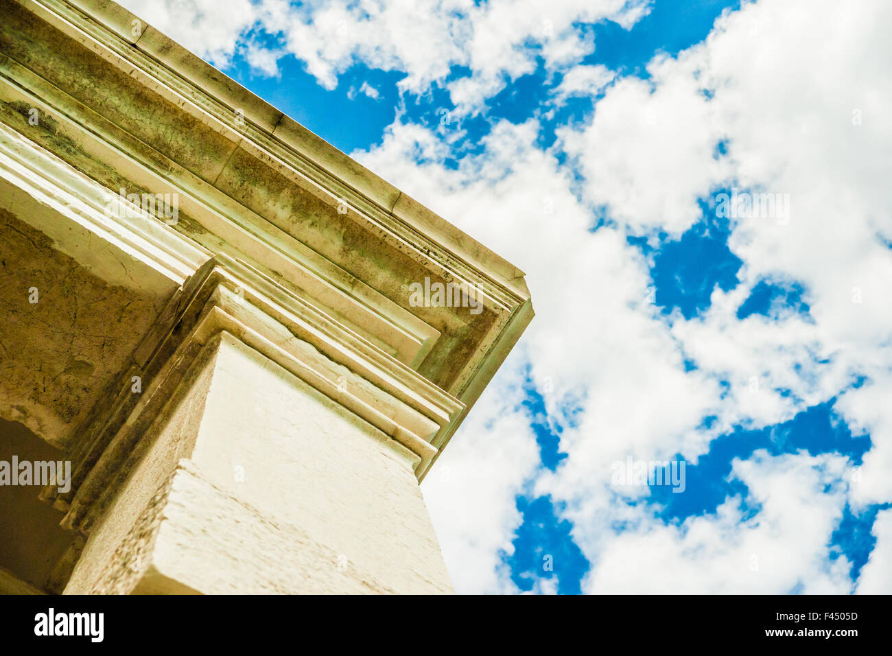 Classical architectural detail - Stock Image
